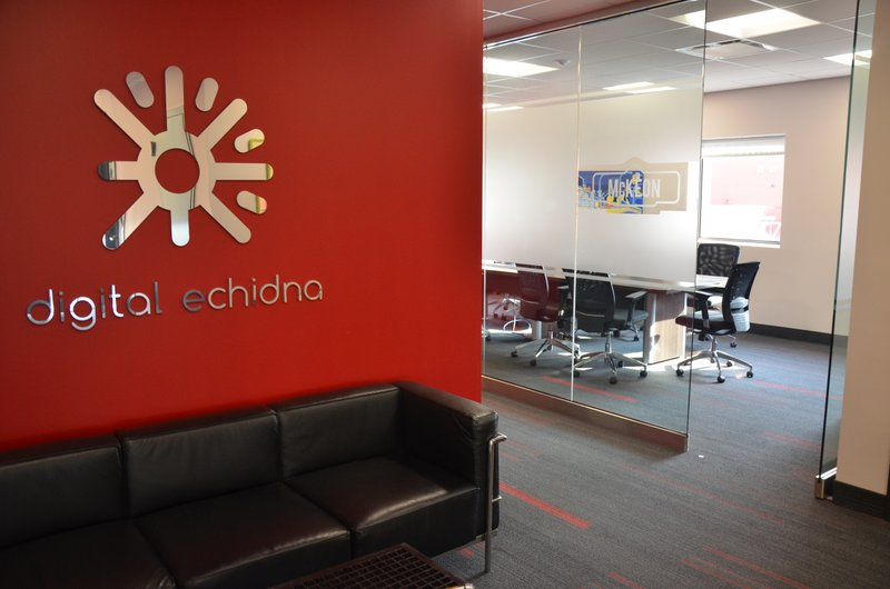 An image of the third floor lobby at Digital Echidna