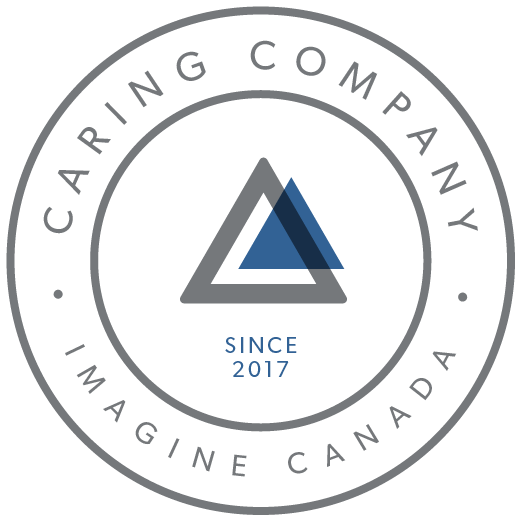 The Imagine Canada Caring Company logo